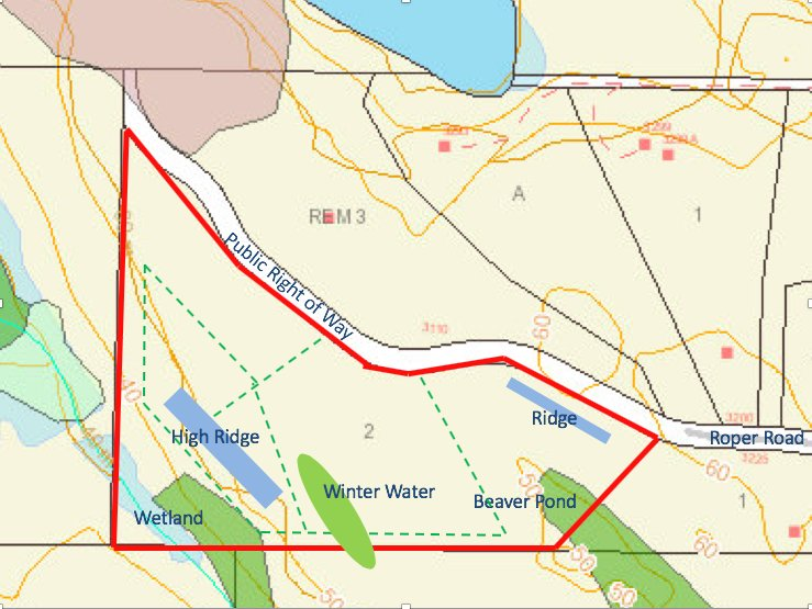 Roper Road Map